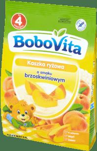 BOBOVITA Kaszka ryżowa o smaku brzoskwiniowym (180g)