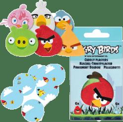 TRÖSTISAR Dorsim pluszowe Plastry Angry Birds 12 Sztuk
