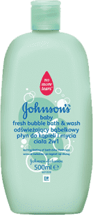 JOHNSON'S BABY Kúpeľ 2v1 bubl fresh 500ml