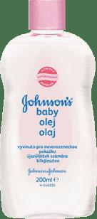 JOHNSON'S BABY Detský olej 200ml