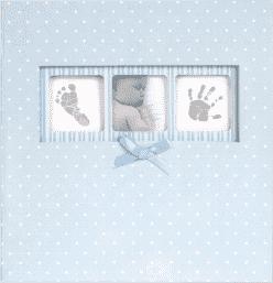 FOTOALBUM Baby Dot 10x15 / 200 foto, modrý