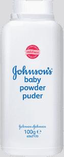 JOHNSON'S BABY Puder 100g