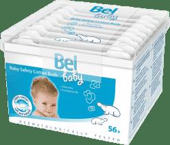 BEL BABY – dětské vatové tyčinky (56 ks)