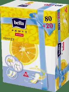 BELLA Panty Aroma Energy 80+20 ks zadarmo