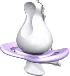 iiamo string dudlík s klipem - fialový