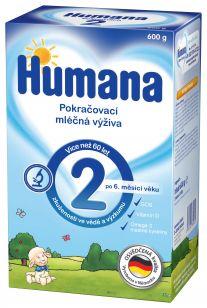 HUMANA 2 (600 g) - dojčenské mlieko