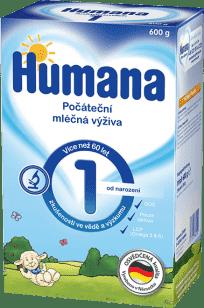 HUMANA 1 (600g) - dojčenské mlieko