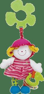 K´s Kids Zawieszka do wózka – wesoła lala Julia