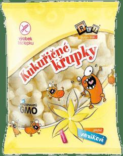 REJ Kukuřičné bezlepkové křupky vanilkové 90 g
