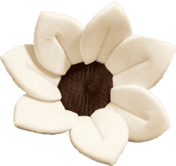 BLOOMINGBATH - kwiatek do kąpieli. Beżowy