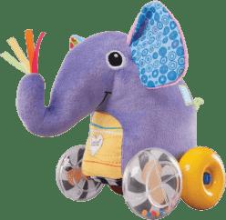 LAMAZE Jazdiace sloníča