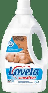 LOVELA Sensitive 1,5l - tekutý prací prostriedok