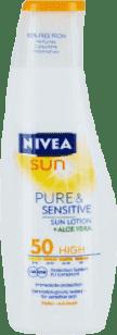 NIVEA Sun Mléko na opalování sensitive OF 50, 200ml