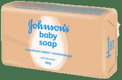 JOHNSON'S BABY Mydło z olejkiem migdałowym 100g