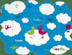 FEEDO magnetický rámček vtáčiky – Feedo klub