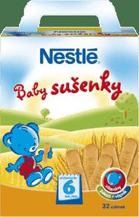 NESTLÉ Baby sušienky 180g