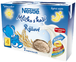 NESTLÉ mliečko s kašou ryžové 2x200ml