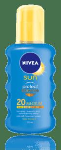 NIVEA Sun Intenzívny sprej na opaľovanie OF20
