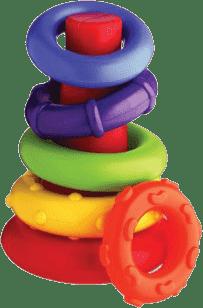 PLAYGRO Aktywne kółeczka plastikowe -gryzak