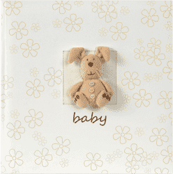 FOTO Luxusní dětské fotoalbum Plush Baby s popisem, 10x15/160 fotografií