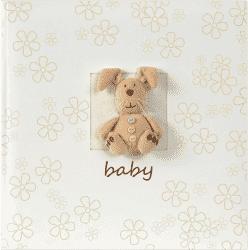 FOTO Luxusný detský fotoalbum Plush Baby s popisom, 10x15/160 fotografií