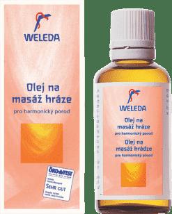 WELEDA Olej na masáže hráze 50ml