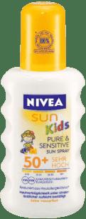 NIVEA Sun Dětský sprej na opalování OF 50+, 200ml