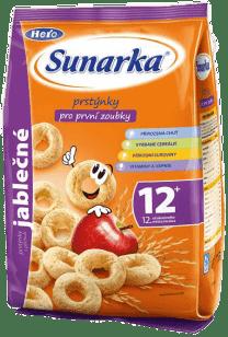 Sunarka detský snack jablkové krúžky 50g