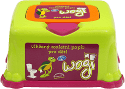 WOGI Vlhčený toaletní papír 60ks - box