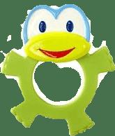 BRIGHT STARTS Hryzačka Dancing Teether Friends™, zelená, 3m+
