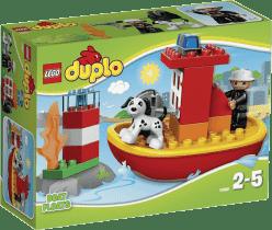 LEGO® DUPLO® Łódź strażacka