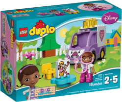 LEGO® DUPLO® Doktorka plyšákovy: Sanitka Rosie