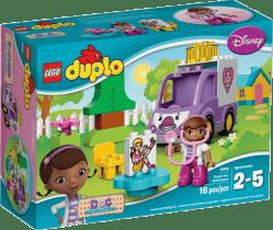 LEGO® DUPLO® Klinika dla pluszaków – karetka Rosie