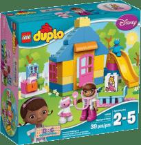 LEGO® DUPLO® Doktorka Plyšáková:Ordinace na dvorku