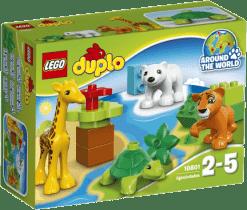 LEGO® DUPLO® Town Młode zwierzątka