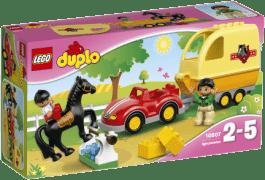 LEGO® DUPLO® Town Přívěs pro koně