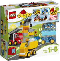 LEGO® DUPLO® Toddler Moje prvé autíčka a nákladiaky