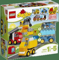 LEGO® DUPLO® Toddler Moje pierwsze pojazdy