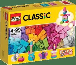 LEGO® Classic Pestré tvorivé doplnky
