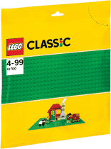 LEGO® Classic Zelená podložka na stavanie