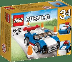 LEGO® Creator Modré pretekárske auto