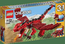 LEGO® Creator Czerwone kreatury