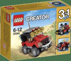 LEGO® Creator Pouštní závoďáky