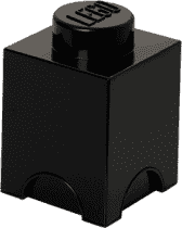 LEGO® Box do przechowywania rozmiar 1 czarny