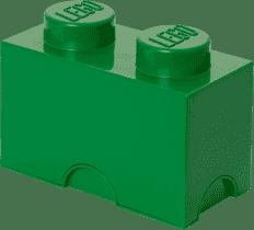 LEGO® Box do przechowywania rozmiar 2 ciemnozielony