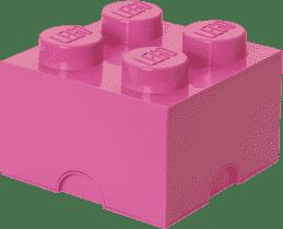 LEGO® Úložný box velikost 3 světle růžová