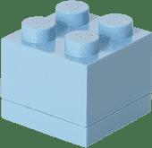 LEGO® Mini Box, jasne niebieskie