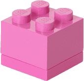LEGO® Mini Box, růžová