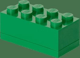 LEGO® Mini Box, ciemnozielony