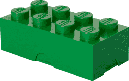 LEGO® Pudełko śniadaniowe, ciemnozielone